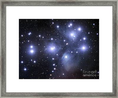 The Pleiades Framed Print by Robert Gendler
