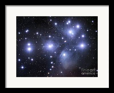 Open Clusters Framed Prints