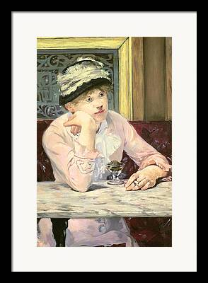 Marble Top Table Framed Prints