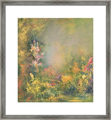 The Poetry Of Nature Framed Print by Hannibal Mane
