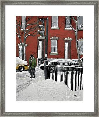 The Point Framed Print