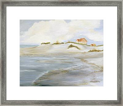 The Point Framed Print by Shirley Lawing