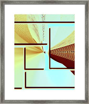 The Point Framed Print by Susan Leggett