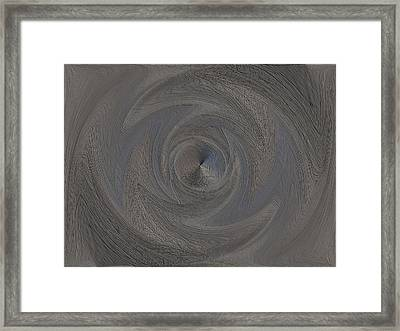 The Point Within Framed Print by Tim Allen