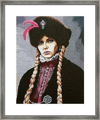The Polish Countess Framed Print by Irina Melenchuk