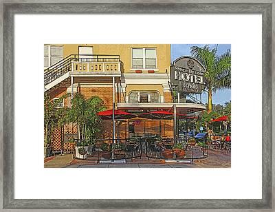 The Ponce De Leon Hotel Framed Print