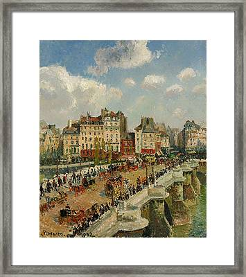 The Pont - Neuf Framed Print by Mountain Dreams