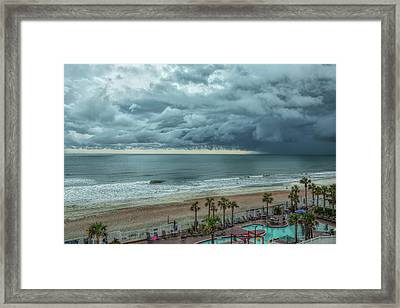 The Pool Is Closed Framed Print