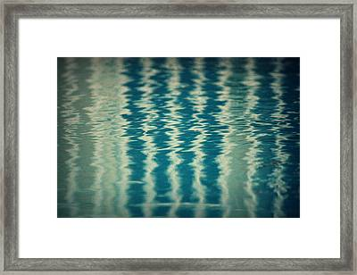The Pool Party Framed Print