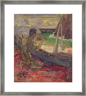 The Poor Fisherman Framed Print