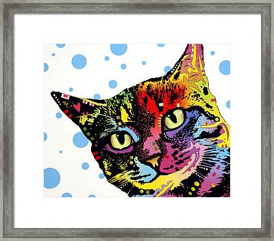 The Pop Cat Framed Print by Dean Russo