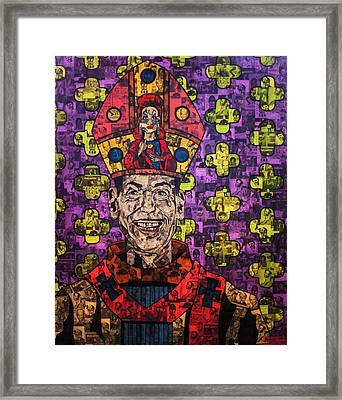 The Pope Of Trash Framed Print