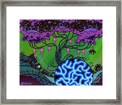 The Pork Tree Framed Print by Dan Keough