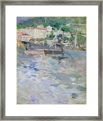 The Port At Nice Framed Print