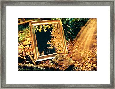 Framed Print featuring the photograph The Portal by Angelique Bowman