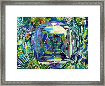 The Portal Framed Print by Mindy Newman
