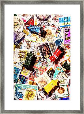 The Postbox Collector Framed Print