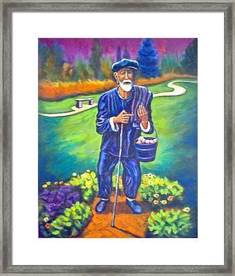 The Potato Man Framed Print by Steve Lawton