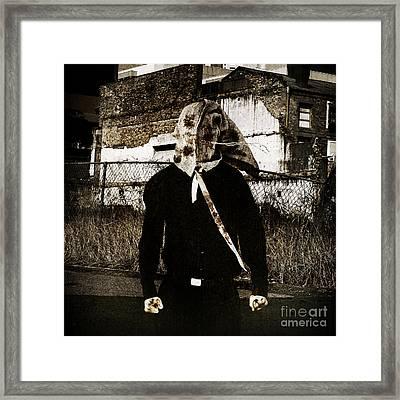 The Potato Sacker Framed Print by Jorgo Photography - Wall Art Gallery