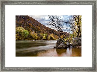 The Potomac In Autumn Framed Print