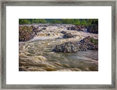 The Potomac River Framed Print