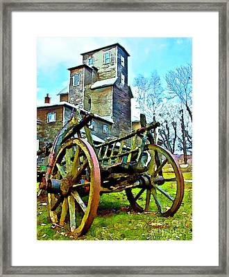 The Pottery - Bennington, Vt Framed Print