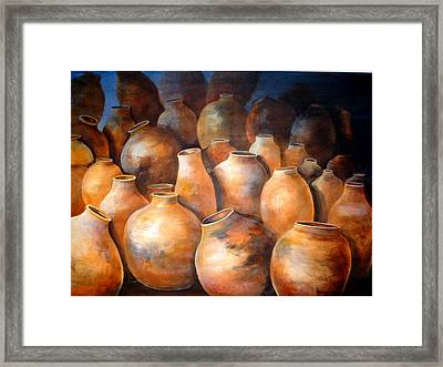 The Pottery Framed Print