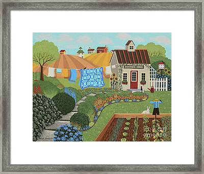 The Potting Shed Framed Print