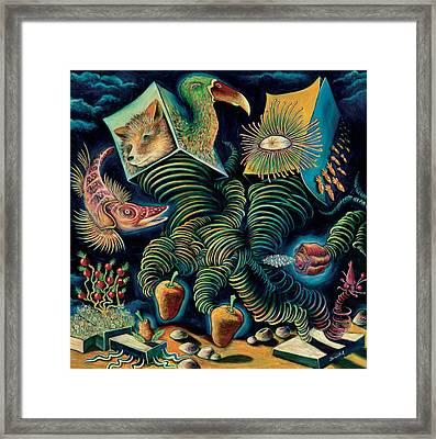 The Pounder Painting Framed Print