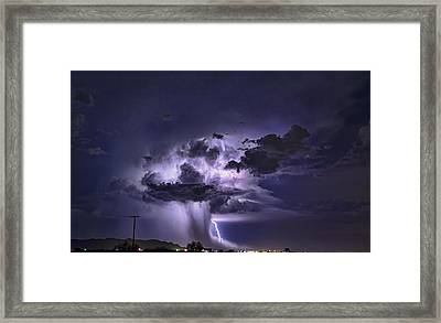 The Power And Beauty Of Nature  Framed Print
