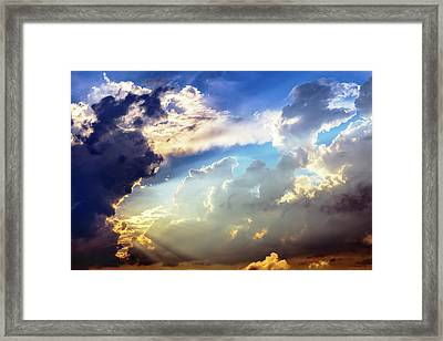 The Power And The Glory Framed Print by Brian Wallace