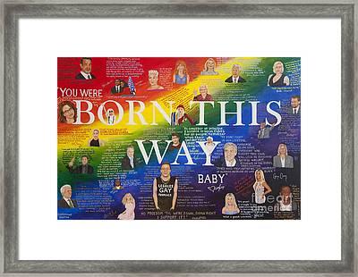 The Power Of Celebrity Framed Print