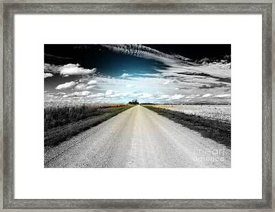 The Power Of Change Framed Print by Cathy  Beharriell