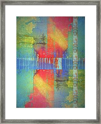 Framed Print featuring the digital art The Power Of Colour by Tara Turner