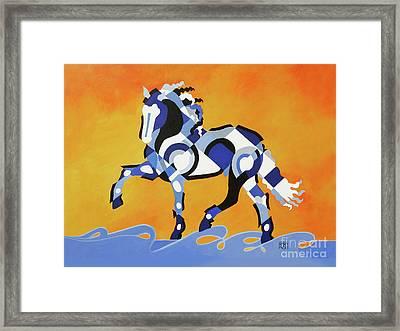 The Power Of Equus Framed Print