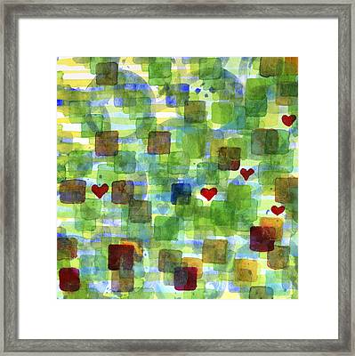The Power Of Love Framed Print