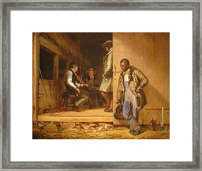 The Power Of Music, 1847 Framed Print by William Sidney Mount