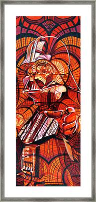 The Power Of The Dark Side Framed Print by Joshua Morton