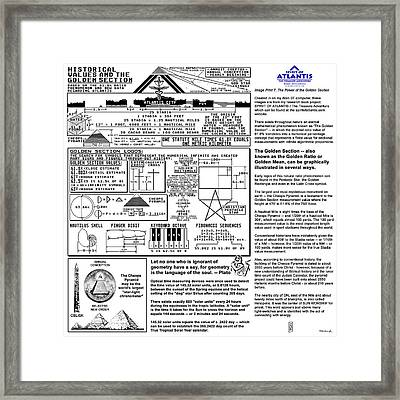 The Power Of The Golden Section Framed Print