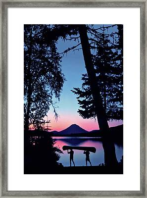 The Power Of Two Framed Print