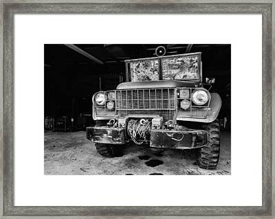 The Power Wagon Framed Print by JC Findley