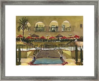 The Prado Restaurant Framed Print