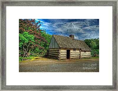 The Prairie House Framed Print by Kim Shatwell-Irishphotographer