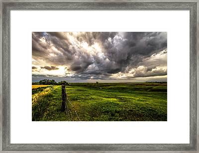 The Prairie Framed Print by Sean Ramsey