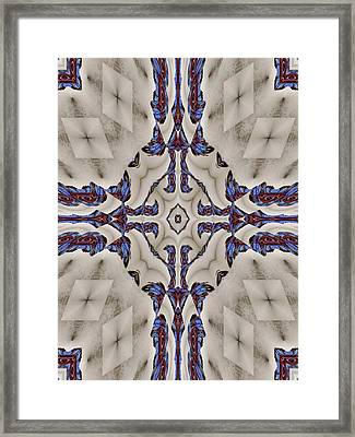 The Prayer Framed Print by Ricky Kendall