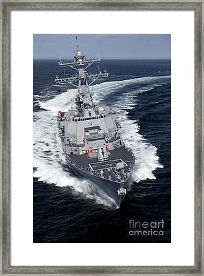 The Pre-commissioning Unit Jason Dunham Framed Print