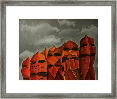 The Premonition Framed Print