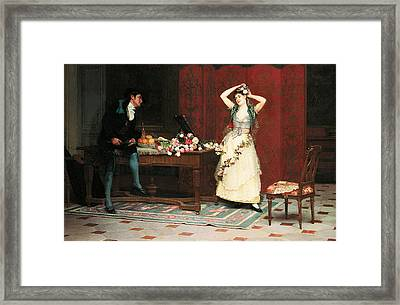 The Preparations Framed Print by Jehan Georges Vibert