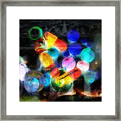 The Present Framed Print by JP Rhea