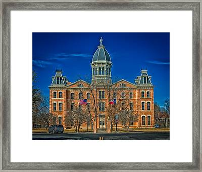 The Presidio County Courthouse Framed Print by Mountain Dreams